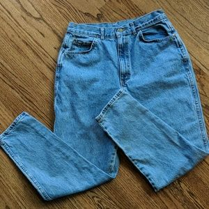 "Vintage CHIC ""MOM"" high waisted jeans Size 16"